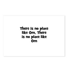 There is no place like Om, Th Postcards (Package o