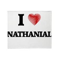 I love Nathanial Throw Blanket