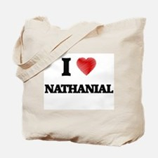 I love Nathanial Tote Bag
