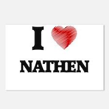 I love Nathen Postcards (Package of 8)