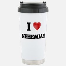 I love Nehemiah Travel Mug