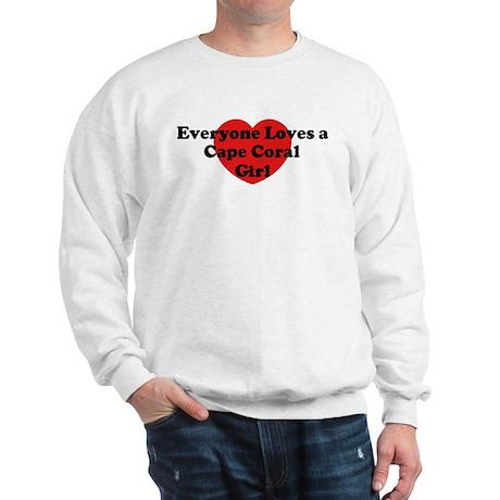 Cape Coral girl Sweatshirt
