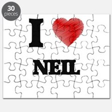 I love Neil Puzzle