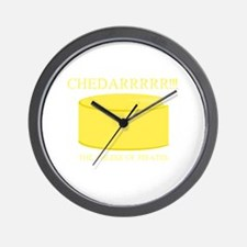 Cheddarrrr!!! The Cheese of Pirates Wall Clock