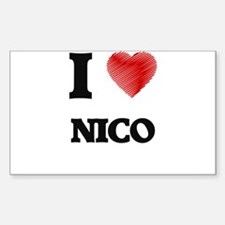 I love Nico Decal