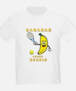 Bananas About Tennis T-Shirt