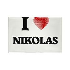 I love Nikolas Magnets