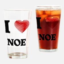 I love Noe Drinking Glass