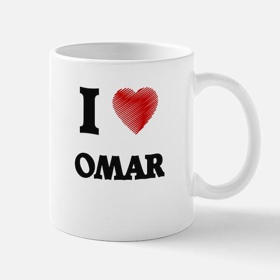 I love Omar Mugs