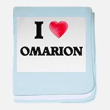 I love Omarion baby blanket