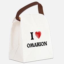 I love Omarion Canvas Lunch Bag