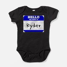 Cute Boy name ryder Baby Bodysuit
