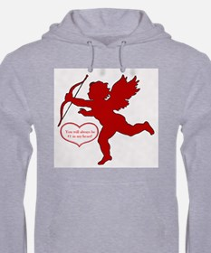 Cupid Heart Duo Men's Hoodie
