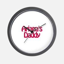 Ariana's Daddy Wall Clock