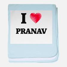 I love Pranav baby blanket
