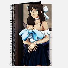 Blue Anime Girl Journal