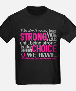 Funny Breast cancer support T