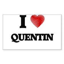 I love Quentin Decal