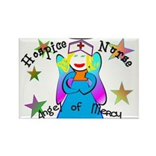 Cute Hospice Rectangle Magnet (10 pack)