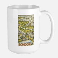Vintage Urban London Travel P Mug