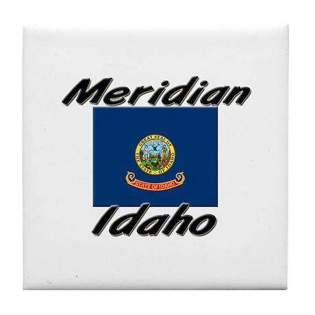 Meridian Idaho Tile Coaster
