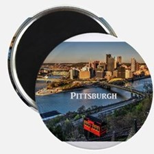 "Cute Pittsburgh souvenirs 2.25"" Magnet (10 pack)"
