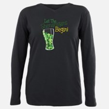 St patricks day Plus Size Long Sleeve Tee