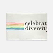 Cute Gay lesbian bi transgender Rectangle Magnet (10 pack)