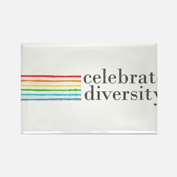 Cute Equal rights Rectangle Magnet (10 pack)