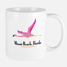 Miami Beach Flamingo - Mug