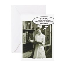 Cool Nursing student Greeting Card