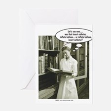 Funny College student Greeting Card
