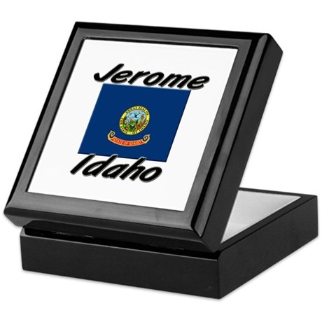 Jerome Idaho Keepsake Box