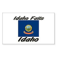 Idaho Falls Idaho Rectangle Decal
