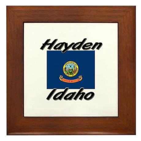 Hayden Idaho Framed Tile