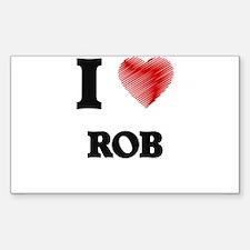 I love Rob Decal