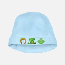 saint patricks day baby hat