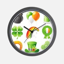 saint patricks day Wall Clock