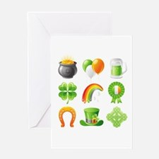 saint patricks day Greeting Cards