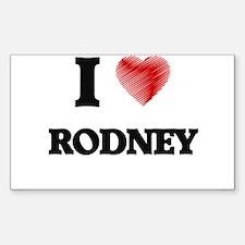 I love Rodney Decal