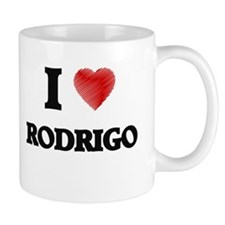 I love Rodrigo Mugs