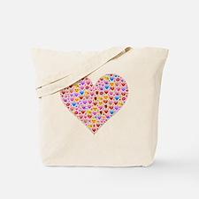 Smiley face emoticon Tote Bag
