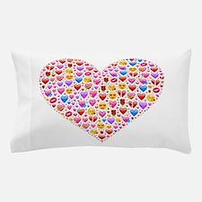 heart emoji Pillow Case