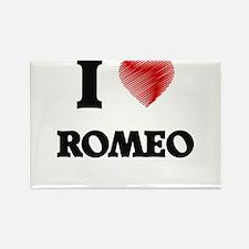 I love Romeo Magnets