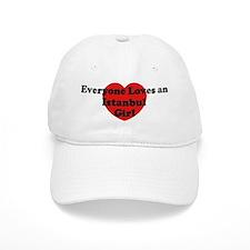 Istanbul girl Baseball Cap