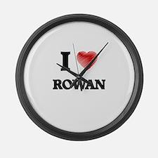 I love Rowan Large Wall Clock