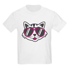 Funny Cartoon cat T-Shirt