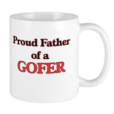 Proud Father of a Gofer Mugs