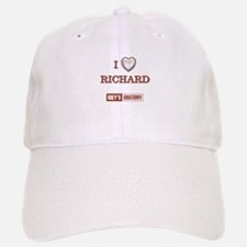 I LOVE RICHARD Baseball Baseball Cap