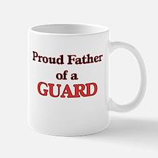Proud Father of a Guard Mugs